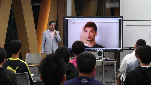 村田諒太をビジョントレーニングで指導