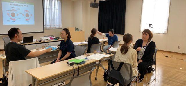 眼のストレッチの実践トレーニング