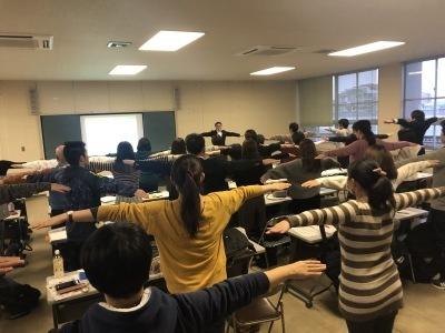 泉大津市でビジョントレーニング講演